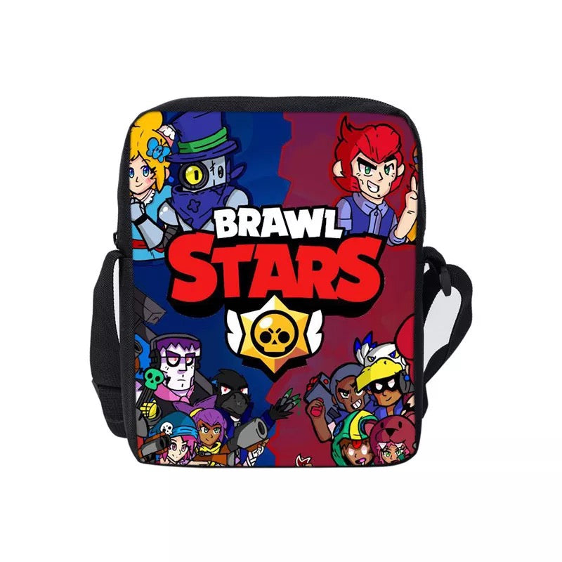 Game Brawl Stars Lunch Box Bag Lunch Tote For Boy Kids