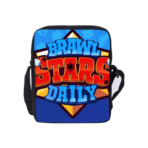 Game Brawl Stars Daily Lunch Box Bag Lunch Tote For Boy Kids