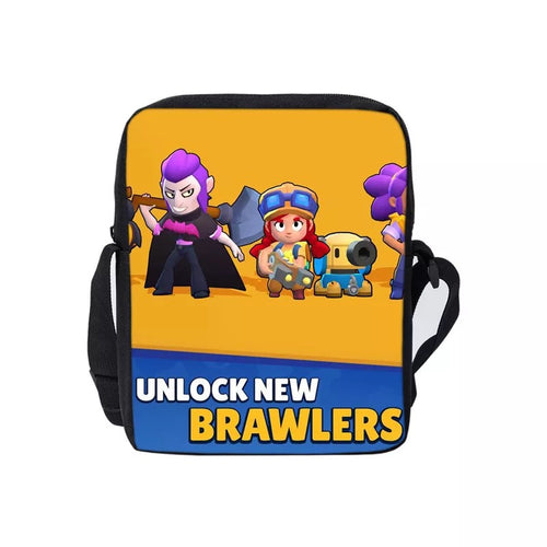 Game Brawl Stars Unlock New Brawlers Lunch Box Bag Lunch Tote For Boy Kids