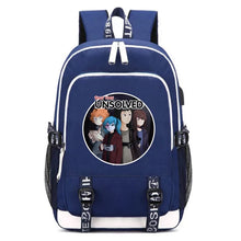 Load image into Gallery viewer, Game Sally Face Women Girls Backpack With USB Charging School Bag For Teenagers