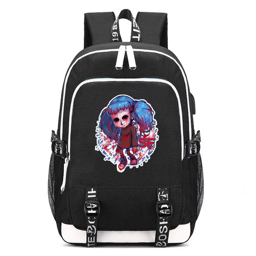 Game Sally Face Backpacks Kids School Bags Teenagers Backpack 16 Inch Mochila Can Customized