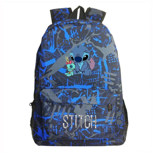 Lilo & Stitch Cosplay Backpack School Bag Water Proof