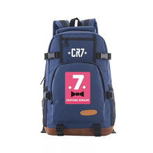 Load image into Gallery viewer, Cristiano Ronaldo CR7 Bookbag School Backpack Bags for Teenage Boys