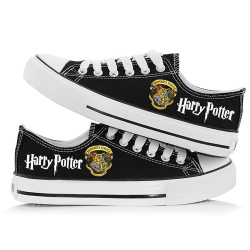 Harry Potter Cosplay Shoes Canvas Sneakers For Kids