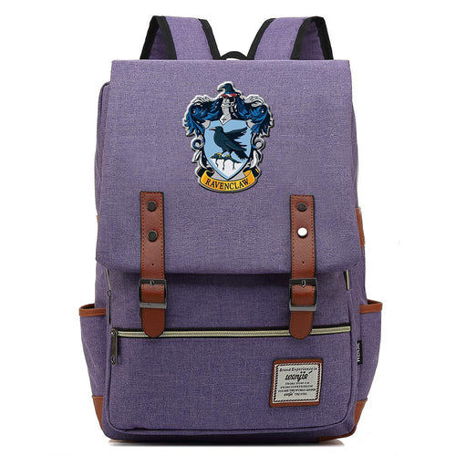 Harry Potter Ravenclaw Canvas Travel Backpack School bag