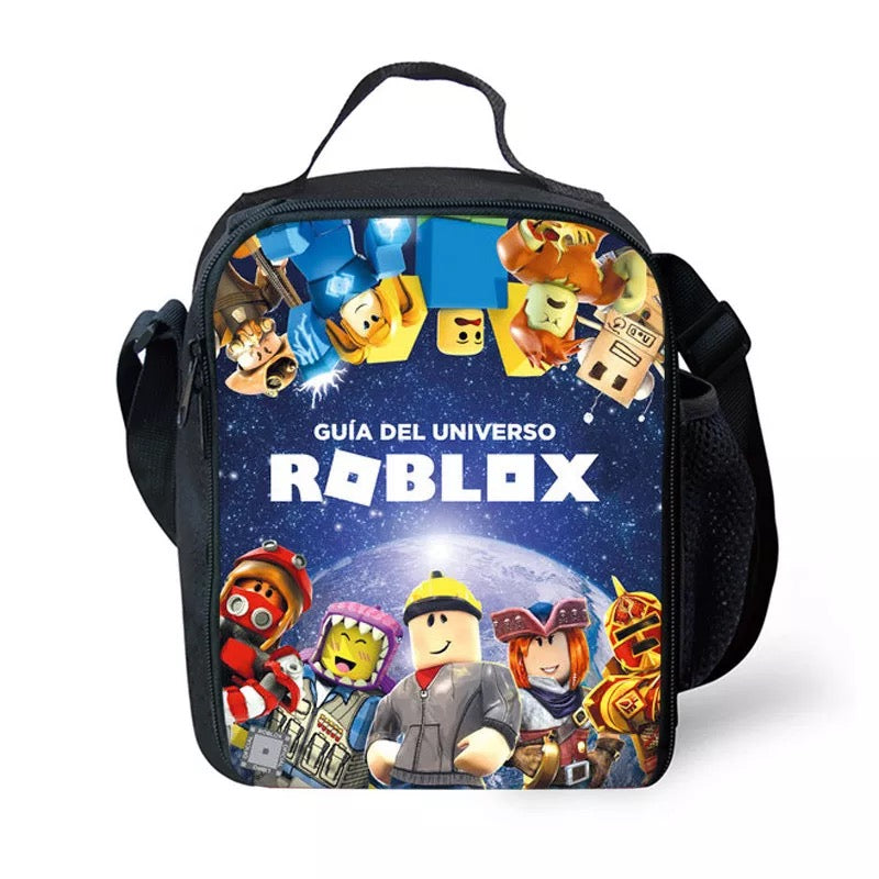 Game Roblox #14 Lunch Box Bag Lunch Tote For Kids