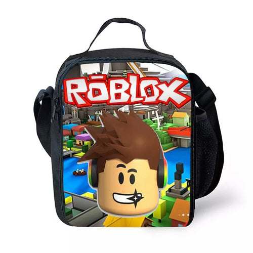Game Roblox #20 Lunch Box Bag Lunch Tote For Kids