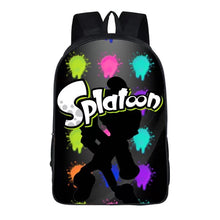Load image into Gallery viewer, Game Splatoon Backpack School Sports Bag For Children Kids Birthday Gift