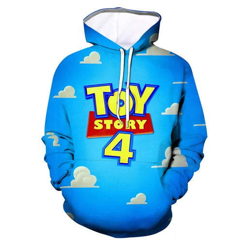 2019 Toy Story Buzz Lightyear Woody #5 Cosplay Sweater Hoodie For Kids Adults
