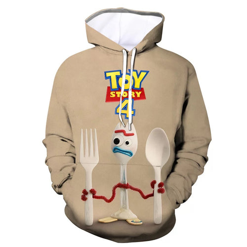 2019 Toy Story Buzz Lightyear Woody #13 Cosplay Sweater Hoodie For Kids Adults