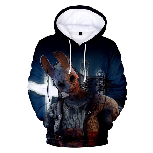 Game Dead By Daylight Trapper #8 Cosplay Sweater Hoodie For Kids Adults