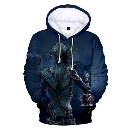 Game Dead By Daylight Trapper #9 Cosplay Sweater Hoodie For Kids Adults