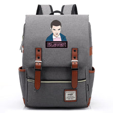 Load image into Gallery viewer, Stranger Things Eleven 11 Canvas Travel Backpack School Bag