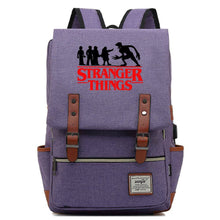 Load image into Gallery viewer, 2019 Stranger Things Cosplay Canvas Travel Backpack School Bag