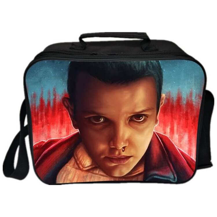 Stranger Things Eleven Lunch Box Bag Lunch Tote For Kids