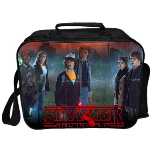 Stranger Things Lunch Box Bag Lunch Tote For Kids