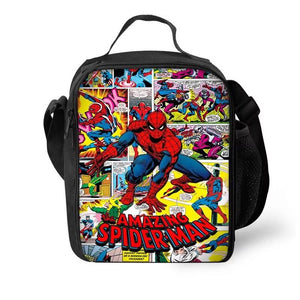 The Amazing Spider Man Lunch Box Bag Lunch Tote For Kids
