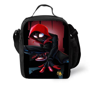 Spider Man Into the Spider-Verse Miles Morales #3 Lunch Box Bag Lunch Tote For Kids
