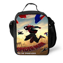 Load image into Gallery viewer, Spider Man Into the Spider-Verse Miles Morales #6 Lunch Box Bag Lunch Tote For Kids
