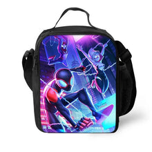 Load image into Gallery viewer, Spider Man Into the Spider-Verse Miles Morales Gwen #1 Lunch Box Bag Lunch Tote For Kids