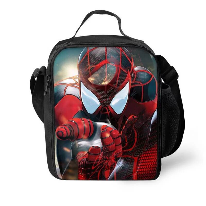 Spider Man Into the Spider-Verse Miles Morales #10 Lunch Box Bag Lunch Tote For Kids