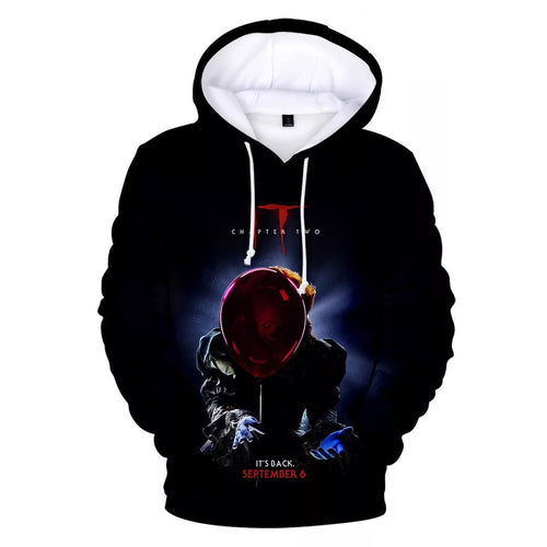 2019 Stephen King It Chapter Two 2 #7 Hoodies Men's Sweatshirts Sweater Jacket Coat