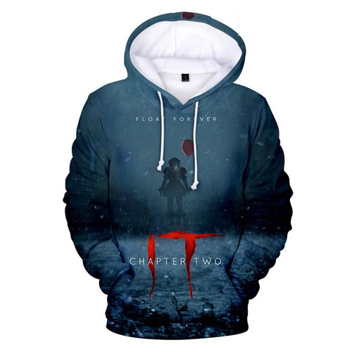 2019 Stephen King It Chapter Two 2 #9 Hoodies Men's Sweatshirts Sweater Jacket Coat