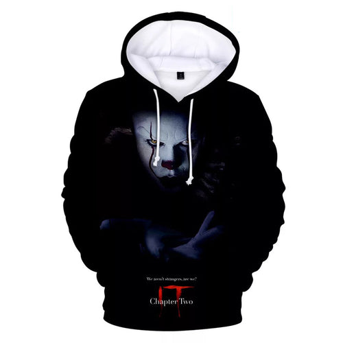 2019 Stephen King It Chapter Two 2 #10 Hoodies Men's Sweatshirts Sweater Jacket Coat