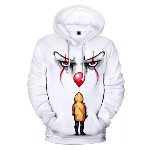 2019 Stephen King It Chapter Two 2 #13 Hoodies Men's Sweatshirts Sweater Jacket Coat