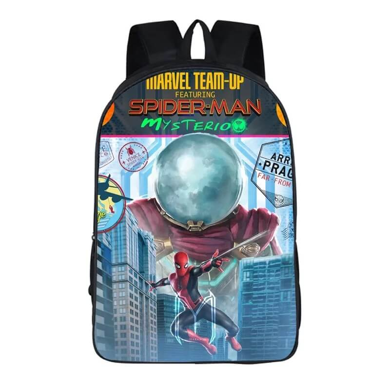 Spider-Man Far From Home Peter Parker Mysterio #11 Backpack School Sports Bag