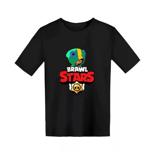 Brawl Stars Leon 3D Printed T Shirts Spring Tops Summer Tees For Kids