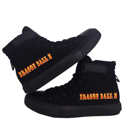 Dragon Ball Z #1 Cosplay Shoes High Top Canvas Sneakers