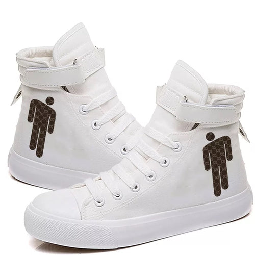 Billie Eilish Bellyache Classic Style #6 Cosplay Shoes High Top Canvas Sneakers