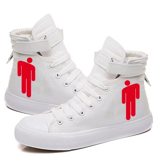 Billie Eilish Bellyache Classic Style #7 Cosplay Shoes High Top Canvas Sneakers
