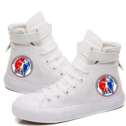NASA Spae #1 Canvas Shoes High Top Unisex Sneakers