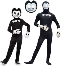 Load image into Gallery viewer, Bendy and the Ink Machine Cosplay Costume Halloween Zentai Jumpsuit For Kids