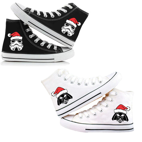 Star Wars Darth Vader Stormtrooper #1 High Tops Casual Canvas Shoes Unisex Sneakers