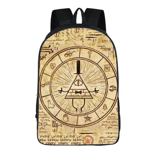 Anime Gravity Falls Backpack School Sports Bag