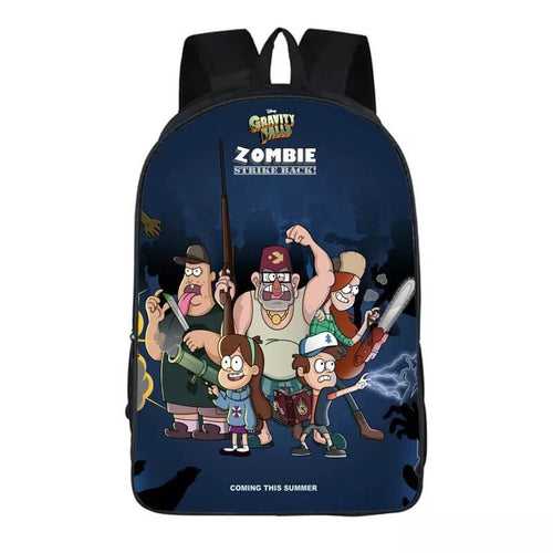 Anime Gravity Falls Stanley Pines #7 Backpack School Sports Bag