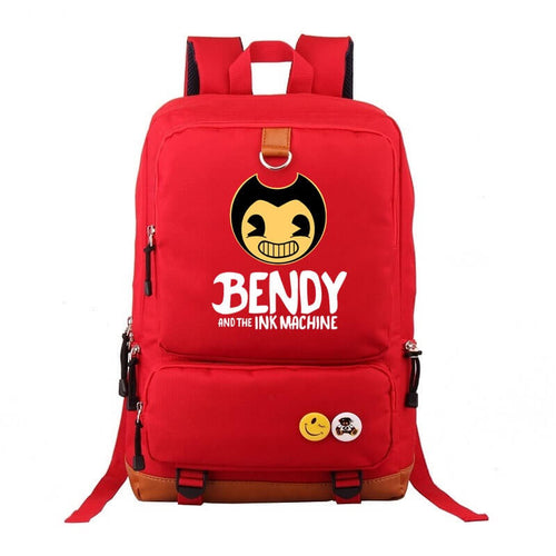 Bendy And The Ink Machine School Bags Water Proof Backpacks