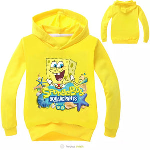 SpongeBob SquarePants Hoodies Sweater Shirt for Boys Kids Sweatshirt