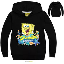 Load image into Gallery viewer, SpongeBob SquarePants Hoodies Sweater Shirt for Boys Kids Sweatshirt
