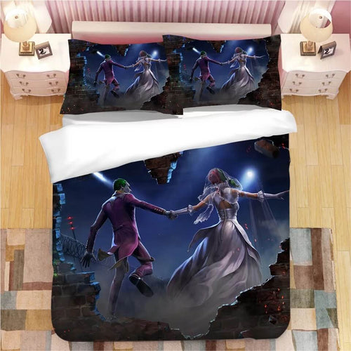 DC Comics Suicide Squad Harley Quinn #5 Bedding Set Duvet Cover Pillowcase Bedroom Set Bed Linen