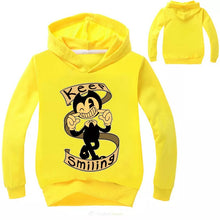 Load image into Gallery viewer, Bendy and the Ink Machine Keep Smiling Hoodies Sweater Shirt for Boys Kids Sweatshirt