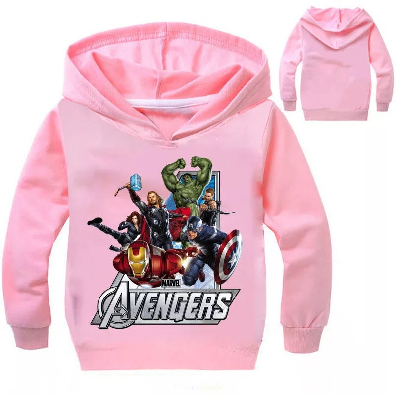 Marvel Avengers Hoodies Sweater Shirt for Boys Kids Sweatshirt