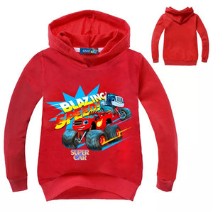 Cars Hoodies Sweater Shirt for Boys Kids Sweatshirt