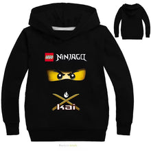 Load image into Gallery viewer, Movie Lego Ninjago #1 Hoodies Sweater Shirt for Boys Kids Sweatshirt