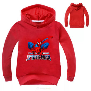 Marvel Avengers Spider Man #2 Hoodies Sweater Shirt for Boys Kids Sweatshirt