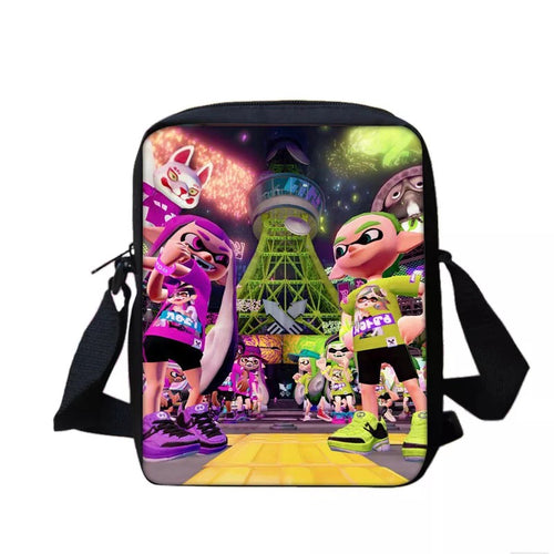 Game Splatoon #1 Lunch Box Bag Lunch Tote For Kids