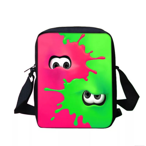 Game Splatoon #3 Lunch Box Bag Lunch Tote For Kids